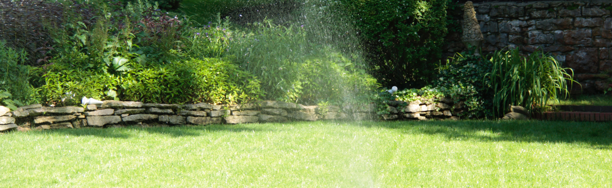 The Grass is Always Greener – With an Automatic Sprinkler!
