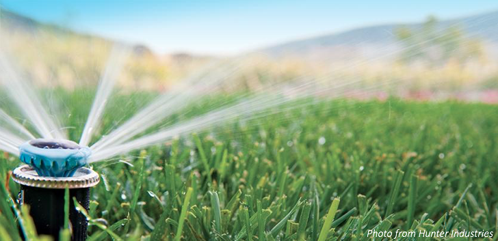 High-Efficiency Irrigation – with the Hunter MP Rotator!